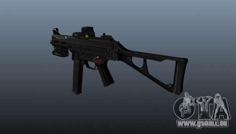 Submachine Gewehr HK UMP 45 für GTA 4 Sekunden Bildschirm