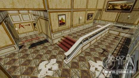 Emplacement Luxville Point Blank pour GTA 4 cinquième écran