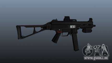 Submachine Gewehr HK UMP 45 für GTA 4 dritte Screenshot