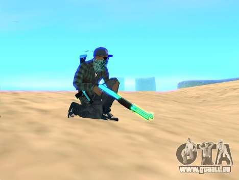 Rifa Gun Pack pour GTA San Andreas deuxième écran