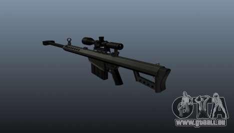 50 sniper rifle calibre pour GTA 4 secondes d'écran