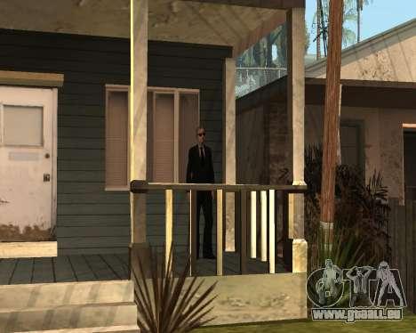 Home Guard CJ pour GTA San Andreas deuxième écran