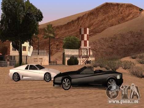 Sheetah Restyle für GTA San Andreas Innenansicht