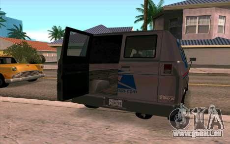 Burrito GTA 4 pour GTA San Andreas laissé vue