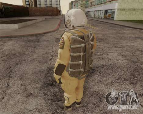 Pilote pour GTA San Andreas deuxième écran