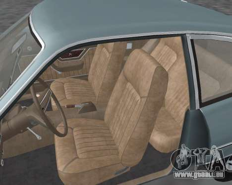Ford Pinto 1973 für GTA San Andreas Seitenansicht