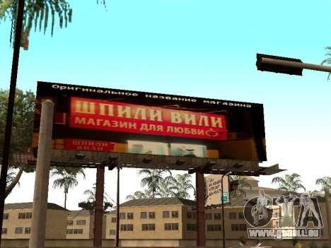 Das neue Krankenhaus in Los_Santose für GTA San Andreas dritten Screenshot