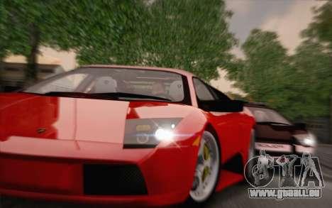 Lamborghini Murciélago 2005 pour GTA San Andreas laissé vue