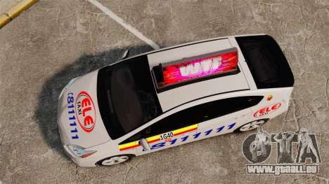 Toyota Prius 2011 Warsaw Taxi v3 für GTA 4 rechte Ansicht