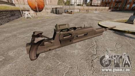 Maxim-Maschinengewehr XM312 für GTA 4 Sekunden Bildschirm