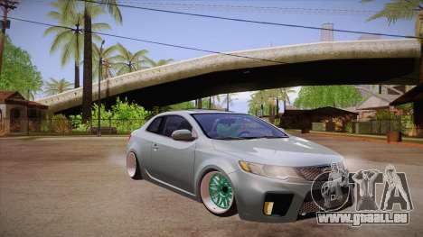 Kia Cerato pour GTA San Andreas vue arrière