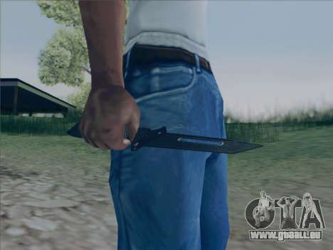 Battlefield 2142 Knife pour GTA San Andreas
