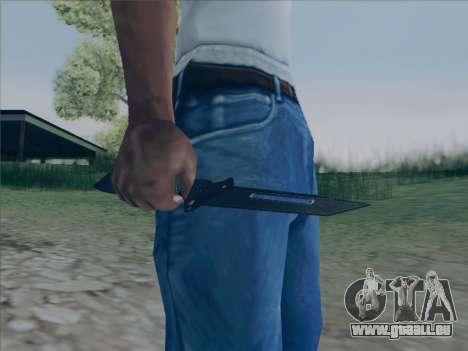 Battlefield 2142 Knife für GTA San Andreas