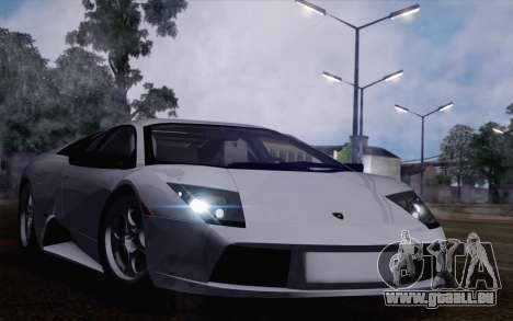 Lamborghini Murciélago 2005 pour GTA San Andreas vue de droite