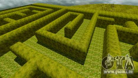 Labyrinthe pour GTA 4 cinquième écran