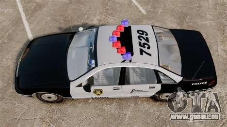 Chevrolet Caprice Police 1991 v2.0 LCPD für GTA 4 rechte Ansicht