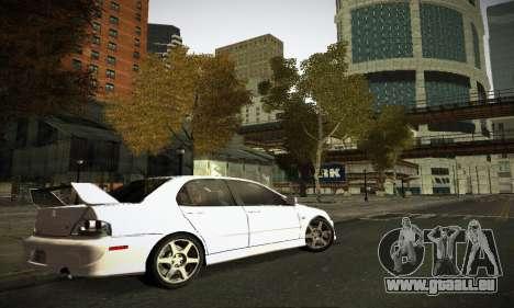 Mitsubishi Lancer Evo IX pour GTA San Andreas salon