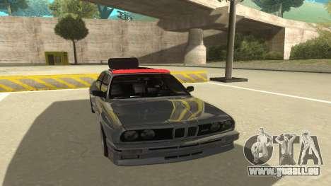 BMW E30 1991 für GTA San Andreas linke Ansicht