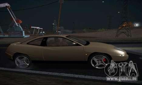 Fiat Coupe pour GTA San Andreas laissé vue