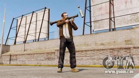 Lance-grenade antichar, Molotov pour GTA 4 troisième écran