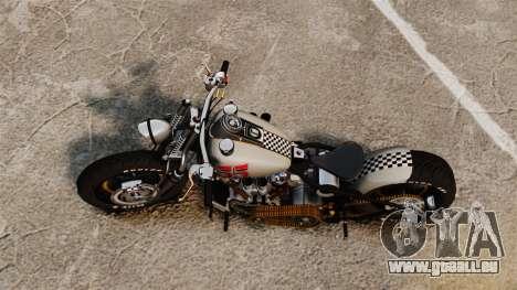 Harley-Davidson Knucklehead v1 pour GTA 4 Vue arrière de la gauche