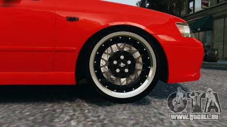 Ford Falcon XR8 für GTA 4 Rückansicht