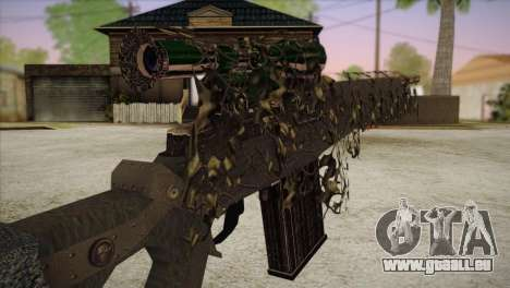 Sniper M-14 With Camouflage Grid für GTA San Andreas dritten Screenshot