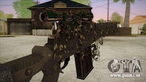 Sniper M-14 With Camouflage Grid pour GTA San Andreas troisième écran