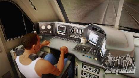 DF11G pour GTA San Andreas vue de droite
