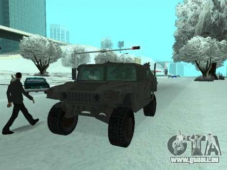 Hummer H1 de la jeu Resident Evil 5 pour GTA San Andreas