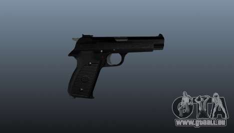 Halbautomatische Pistole SIG P210 für GTA 4 dritte Screenshot