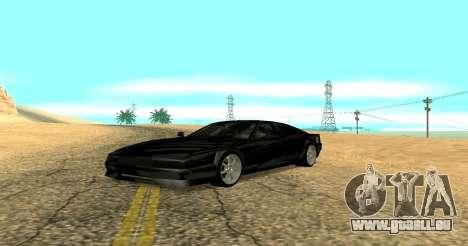 Sheetah Restyle für GTA San Andreas linke Ansicht