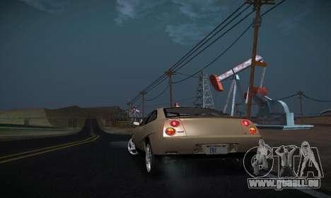 Fiat Coupe pour GTA San Andreas vue de côté