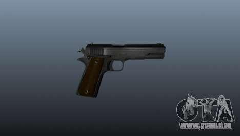 Colt M1911 pistolet pour GTA 4 troisième écran