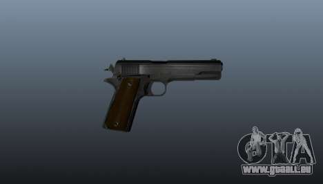 Colt M1911 Pistole für GTA 4 dritte Screenshot