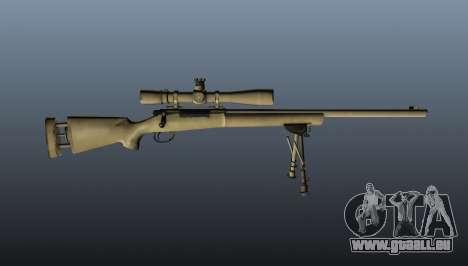 Le fusil de sniper M24 pour GTA 4 troisième écran