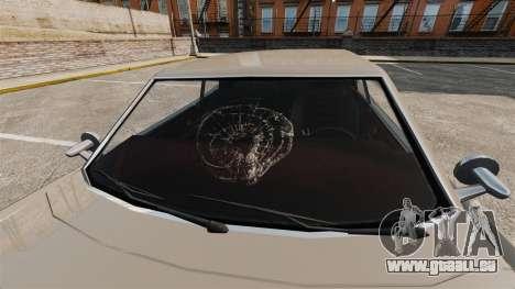 Nouveaux effets de verre pour GTA 4 secondes d'écran
