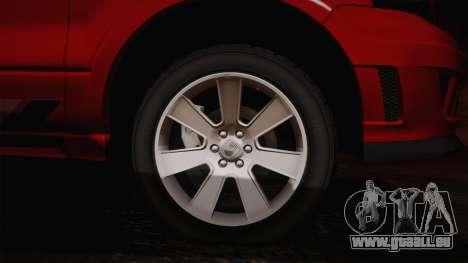 Saleen S331 Supercab 2008 für GTA San Andreas linke Ansicht