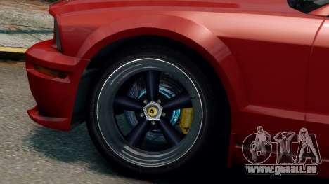 Shelby Terlingua Mustang pour GTA 4 est une gauche