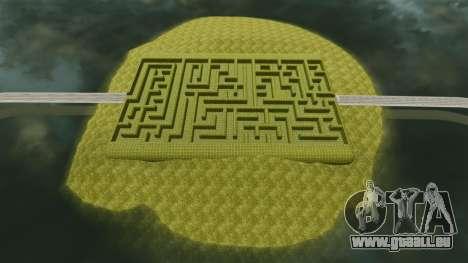 Labyrinthe pour GTA 4 secondes d'écran
