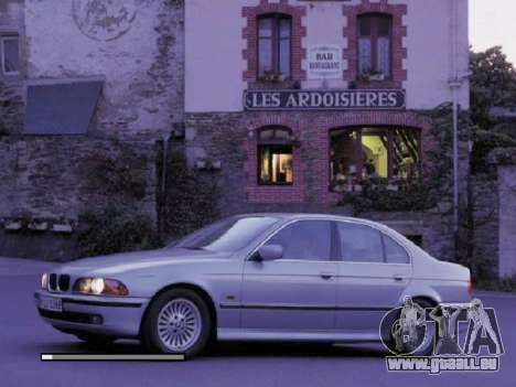 Neue Loading Screens BMW für GTA San Andreas dritten Screenshot