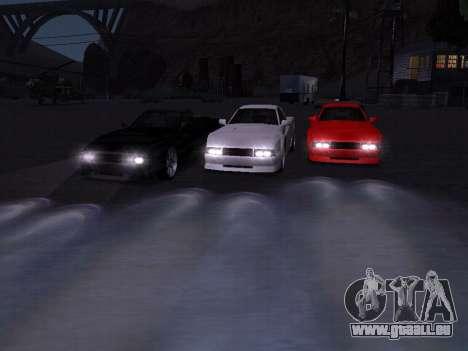 Sheetah Restyle für GTA San Andreas Motor