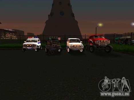 VAZ 212140 Polizei für GTA San Andreas