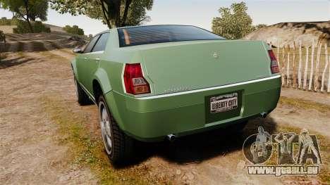 PMP600 Off-road für GTA 4 hinten links Ansicht