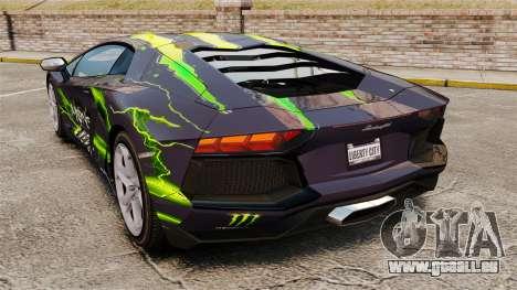 Lamborghini Aventador LP700-4 2012 [EPM] pour GTA 4 est une gauche