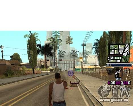 (C) HUD-par Gabbi_Stafford pour GTA San Andreas
