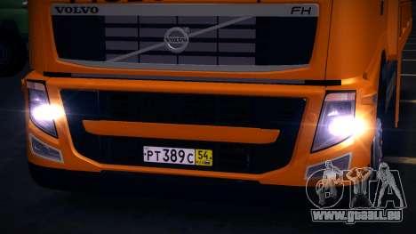 Volvo FH12 dépanneuse pour GTA San Andreas laissé vue