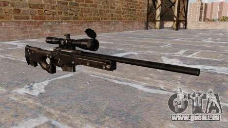 Fusil de sniper AI AWM pour GTA 4