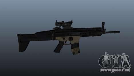 Automatische FN SCAR-L für GTA 4 dritte Screenshot