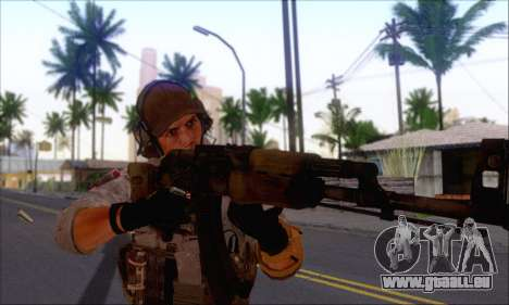 Engineer of Battlefield 4 für GTA San Andreas zweiten Screenshot